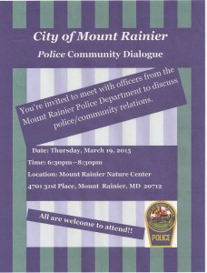 Police Community Meeting Flyer (2)